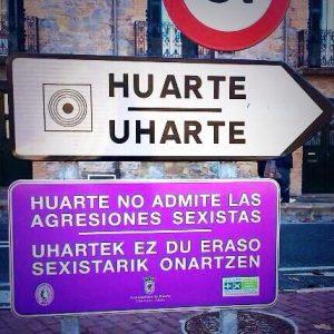 cartel HUARTE
