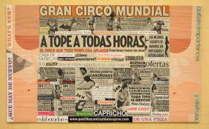 Collage participante en el II Concurso de Arte Crítico Koldo Agarraberes, en el Barrio de Artistas. Junio 2016