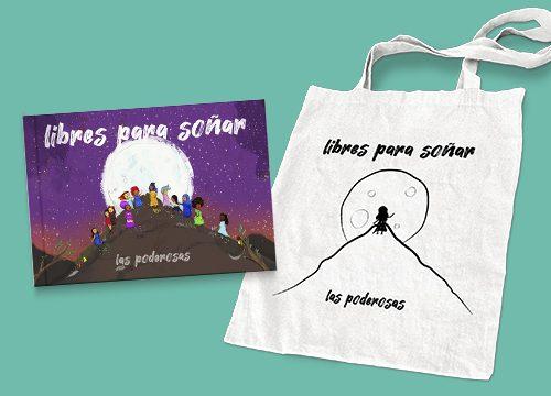 Disco libro Libres para Soñar + bolsa